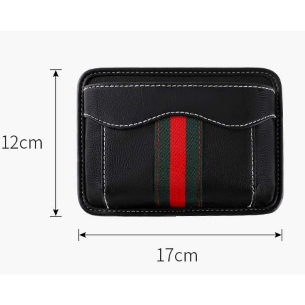 HongTeng Car Seat Storage Bag Multi-Function Storage Bag Leather Material (Color : B) by HongTeng (Image #2)