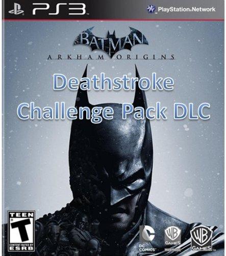 Batman Arkham Origins: Deathstroke Challenge Pack DLC - PS3 [Digital Code]