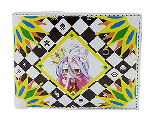 No Game No Life Shiro Costume - Great Eastern Entertainment Boys No Game No Life - Shiro Wallet
