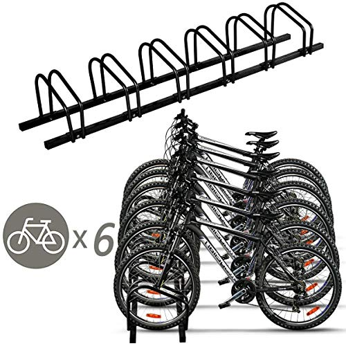 Goplus Bike Rack Bicycle Stand Cycling Rack Parking Garage Storage Organizer