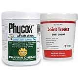 PhyCox Soft Chews (120 Soft Chews) + FREE Joint Treats