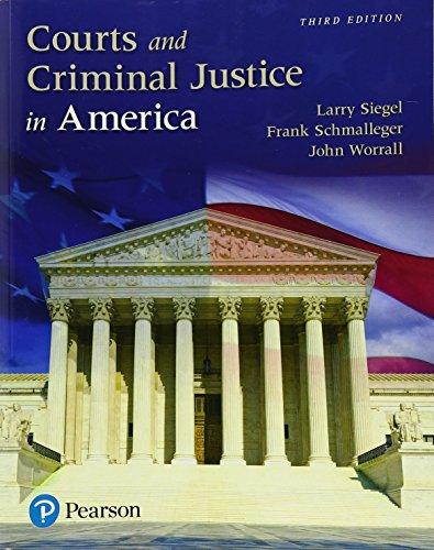 Courts+Criminal Justice In America