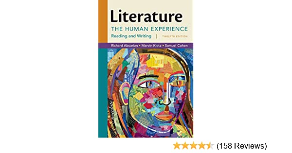 Amazon literature the human experience 9781457699931 amazon literature the human experience 9781457699931 richard abcarian marvin klotz samuel cohen books fandeluxe Images