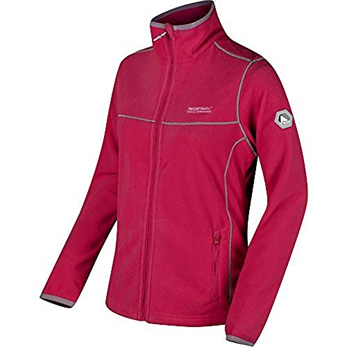 Regatta Women's Fleece Dark Jacket II Cerise Floreo AAdTqr