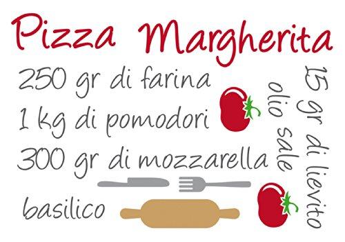 Crearreda CR-62405 Pizza Margherita Recipe Sticker