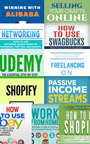 Make Money From Home – 11 Books in 1 Bundle: Learn How to Make Money Online