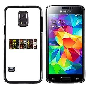 LECELL--Funda protectora / Cubierta / Piel For Samsung Galaxy S5 Mini, SM-G800 -- GOT Sygils --