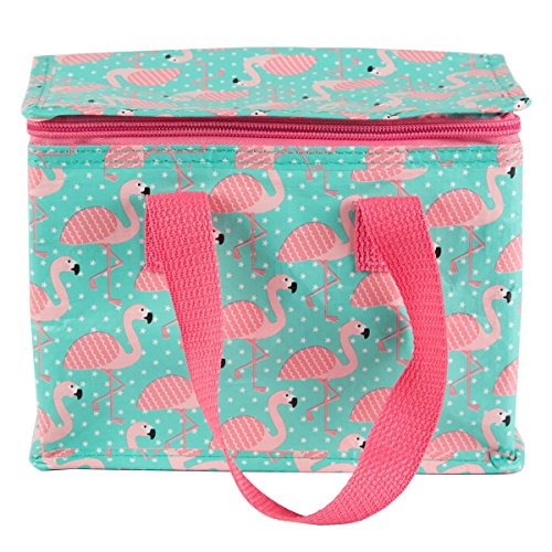 Sass & Belle Reusable Lunch Tote (Flamingo)