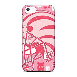 Protective Tpu Case With Fashion Design For Iphone 5c (cleveland Browns)