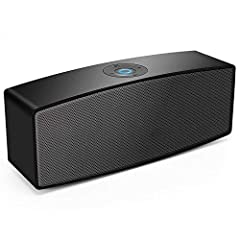 Why you choose Lenrue A11 bluetooth speaker?  100% satisfaction customer service and 24 hours email support makes your purchase absolutely risk-free! It would be a wonderful festival gift for your beloved ones!Four Multiple Connection Ways! ●...