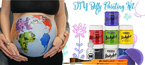 DIY Belly Painting Kit - Bundle (11 items)
