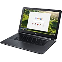 "Acer Flagship CB3-532 15.6"" HD Premium Chromebook - Intel Dual-Core Celeron N3060 up to 2.48GH.z, 2GB RAM, 16GB SSD, Wireless AC, HDMI, USB 3.0, Webcam, Chrome OS (Certified Refurbished)"