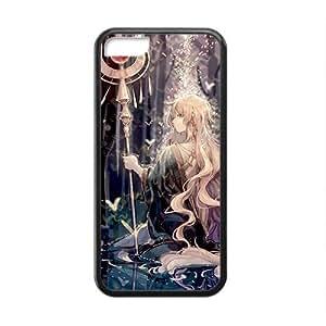 Cartoon Anime Cute Black Phone Case for iPhone 5c