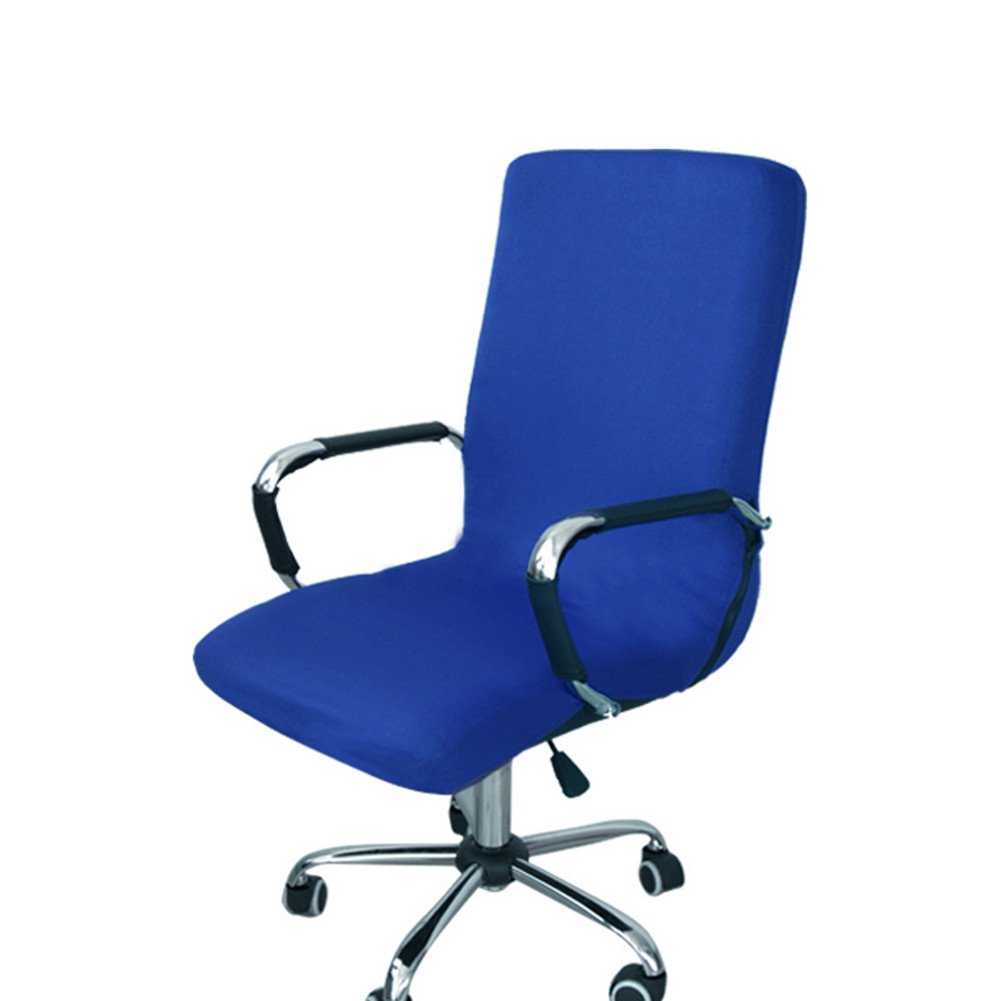 Amazon.com: redcolourful Office Chair Cover Swivel Chair Office ...