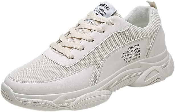 Zapatos De Cordones para Hombre Outdoor Calzado Asfalto Sneakers Ligero Y Comodo, Zapatillas Minimalistas De Barefoot Trail Running Atletismo Net para Estudiante: Amazon.es: Zapatos y complementos