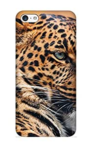 Crooningrose Snap On Hard Case Cover Animal Leopard Protector For Iphone 5c