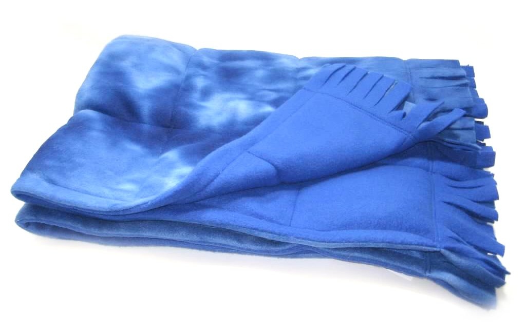 Small Fringed Weighted Blanket (5 Lb - 30x42) - Sensory Tool, Special Needs Aid, Provides Pressure Like a Hug by Covered In Comfort
