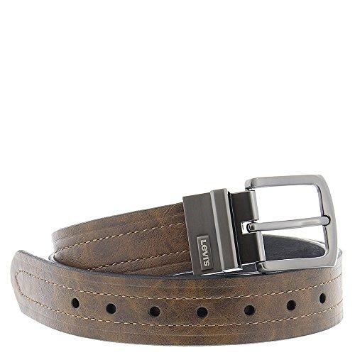 Levi's Men's Levi's 1 9/16 in. Reversible Belt (Regular and Big & Tall Sizes),Brown/Black,40