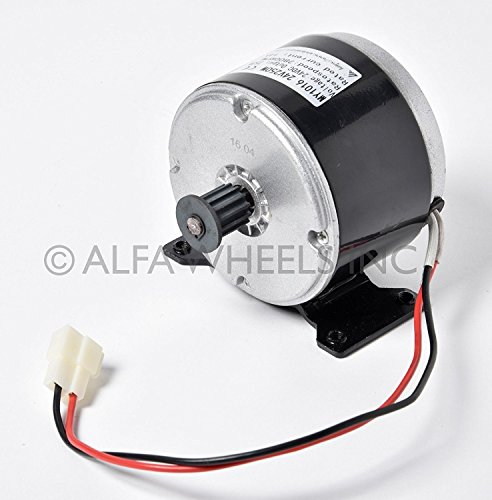250 W 24 V electric motor 5M Belt f scooter bike go-kart minibike razor MY1016 by scooter