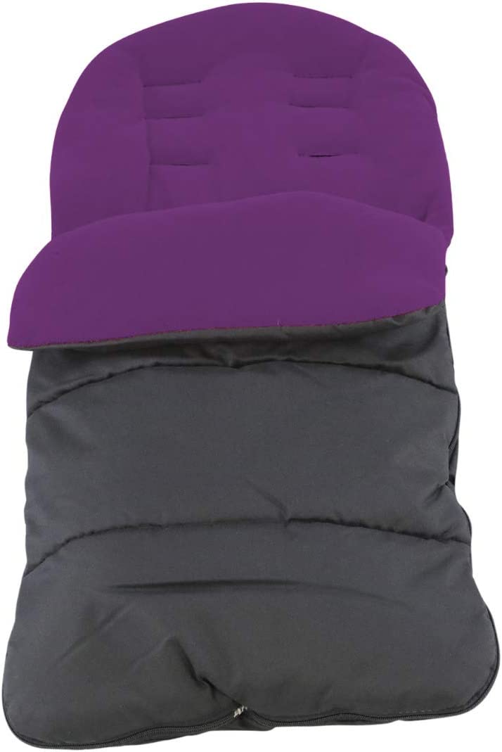 Premium Footmuff//Cosy Toes Compatible with Silver Cross Pop Plum Purple