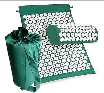 Massagegerät Kissen Akupunktur Set Stress Rückenschmerzen Massage Spike Yoga Mat