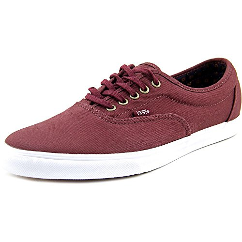 Women's burgundy Vans Twill Geo Suiting LPE 7W4d4q