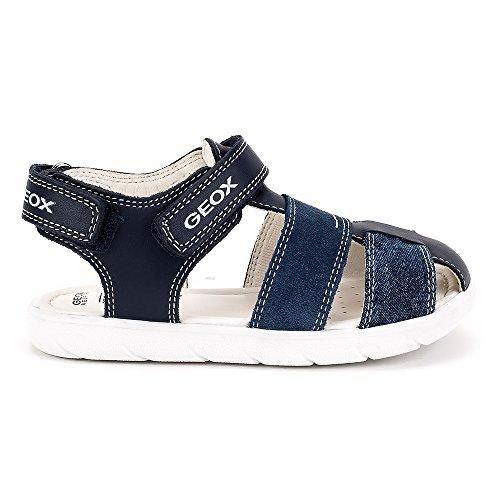 Geox Sandal Alul - B821VA085PAC0700 - Color Navy Blue - Size: 10.0 by Geox