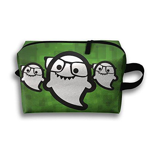 Portable Travel Bag Toiletry Pouch Buggy Bag Cosmetic Bag Makeup Bag Hi I'm Ghost Sunglass Printing Storage - Vuitton Sunglasses Ladies Louis