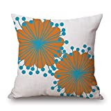 Bestseason 18 X 18 Inches / 45 By 45 Cm Plant Pillow Cases,2 Sides Is Fit For Wife,relatives,drawing Room,dinning Room,bench