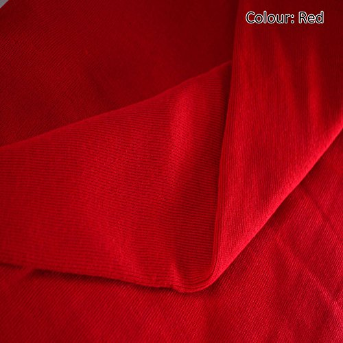 - Neotrims Stretch Sweatshirt Rib Fabric, Knit Ribbing, Waistbands Cuffs. For Hoddies & Dressmaking. 10 colors Limited Quantities only at this price. Cotton Acrylic Poly Mix; Tubular fabric sold as 1 or 5 meters Wholesale price!
