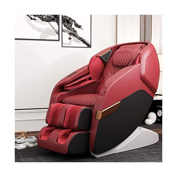 51KtKm6z4IL Robotouch Echo Pro Full Body Massage Chair (Red)