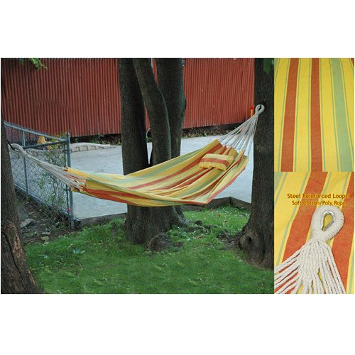 Paradise Premium Oversized Hammock in a Bag with 16