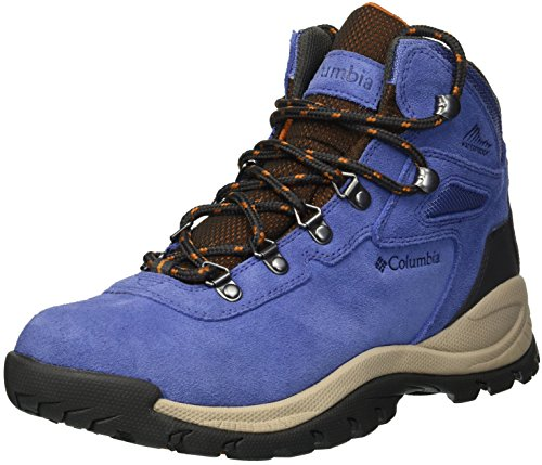 Columbia Women's Newton Ridge Plus Waterproof Amped Wide Hiking Boot, Eve, Bright Copper