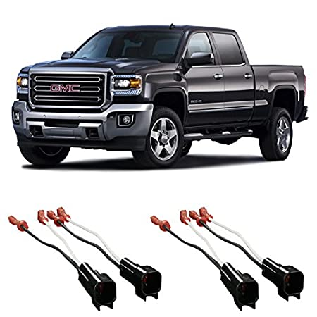 51KtL9QccIL._SY450_ amazon com gmc sierra truck 2014 2015 factory speaker replacement 2007 GMC Acadia Wiring Harness at soozxer.org