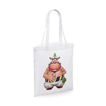 Bubbleshirt shopping bag in cotone anime cult anni 70 il mago
