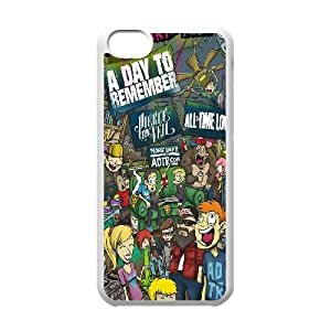 iPhone 5C Phone Cases White Rock Band ADTR A Day To Remember CKL831852