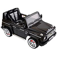 Black Kids Ride On 12V Truck Car Electric RC Remote Control