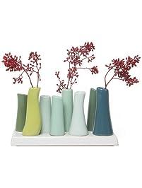 Vases Amazoncom Home Decor - Clear floor vase with flowers