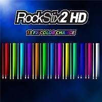 Pair Of ROCKSTIX 2 HD COLOR CHANGE, BRIGHT LED LIGHT UP...