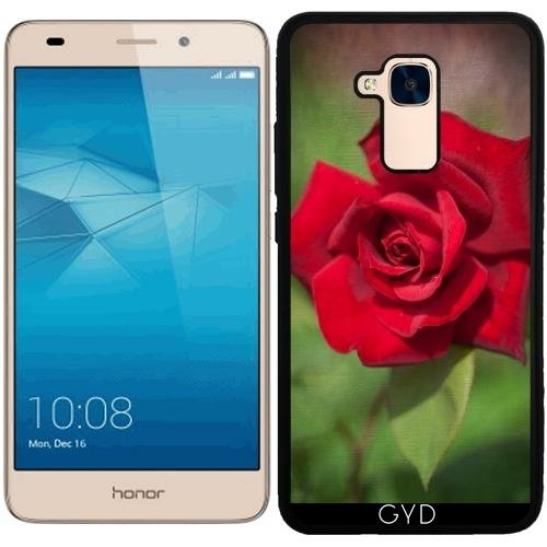 Funda de silicona para Huawei Honor 5C - Rosa Roja by J McCool