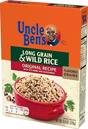 (UNCLE BEN'S Flavored Grains: Long Grain & Wild (12pk))