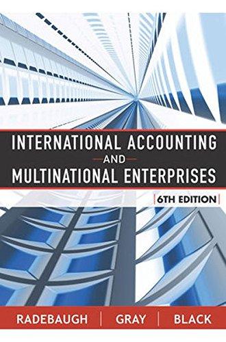 International Accounting And Multinational Enterprises