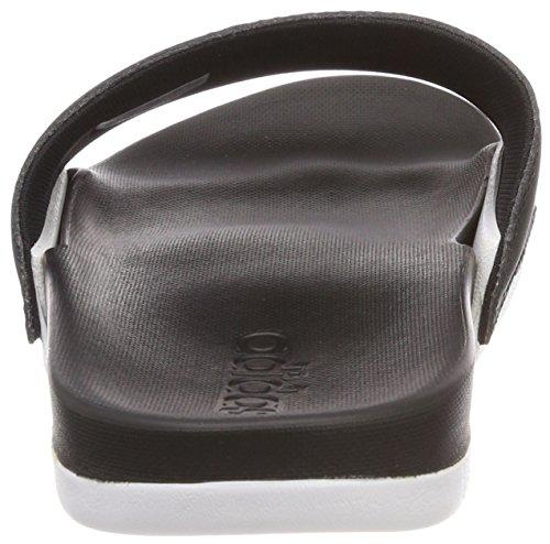 W Black Logo Adilette Wht Plage Adidas core amp; ftwr core Cf Chaussures De Piscine Femme Noir Black TFwEqtaqxd
