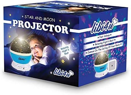 libi4u Espacio Fiesta y Estrellas de Techo para Niños Dormitorio ...