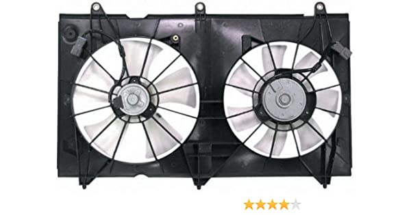 Denso Replacement Dual Function Cooling Fan Assembly