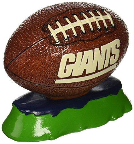 Pets First NFL New York Giants Football Aquarium Tank Ornament