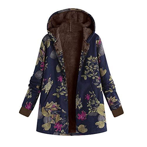 Bracelet Jelly Yellow (Womens Winter Warm Outwear Duseedik Plus Size Down Jackets Floral Print Hooded Pockets Vintage Oversize Coats Sweatshirts)