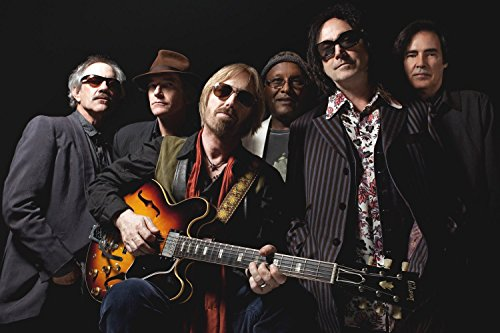 Tom Petty and The Heartbreakers Classic Rock Band Poster