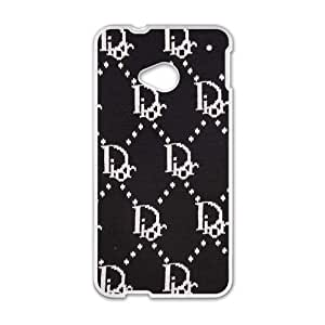 SVF Dior design fashion cell phone case for HTC One M7