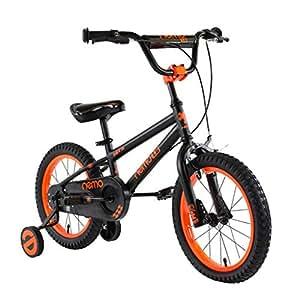 Amazon.com: Bicicletas infantiles Rojo Niña Bicicleta Azul ...